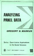 Analyzing Panel Data (Quantitative Applications in the Social Sciences)