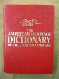 Dictionary, The American Heritage Dictionary of the English Language: New College Edition