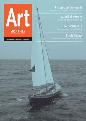 Art Monthly 289: September 2005