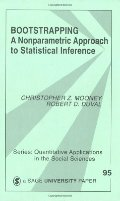 Bootstrapping: A Nonparametric Approach to Statistical Inference (Quantitative Applications in the Social Sciences)