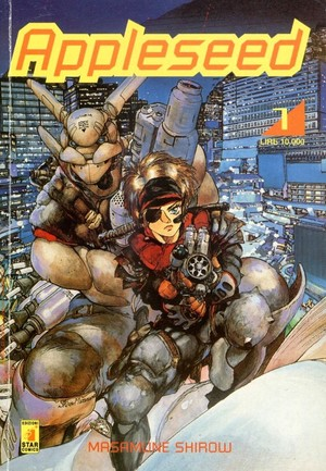 Appleseed 1-4 (Completo)
