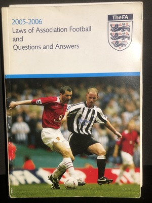 2005-2006 Laws of Association Football and Questions and Answers