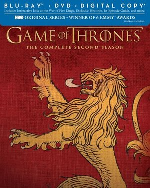 Game of Thrones: Season 3 Lannister Limited Edition SIgil Packaging (Blu-ray + Digital Copy)