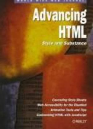 Advancing HTML: Style and Substance