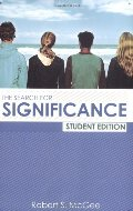 Search for Significance Student Edition, The