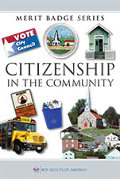 BSA Citizenship in the community Merit badge book