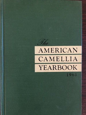 American Camellia Yearbook 1961