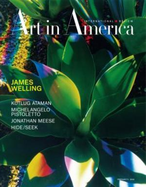 Art In America Magazine (February 2011) INTERNATIONAL REVIEW #2, James Welling