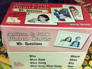 Autism & PDD Photo Cards Wh- Questions