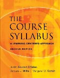 Course Syllabus: A Learning-Centered Approach, The