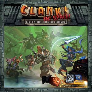 Clank! In! Space! A deck building adventure