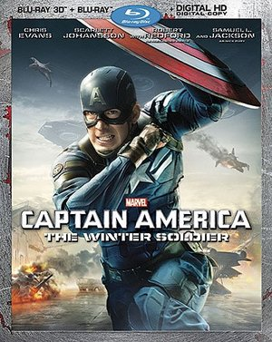 Captain America: The Winter Soldier (2-Disc 3D Blu-ray/DVD Combo Pack + Digital HD)