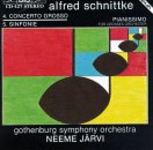 Alfred Schnittke: Concerto Grosso No. 4 - Symphony No. 5 / Pianissimo for Large Orchestra