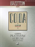Led Zeppelin -- Coda Platinum Guitar: Authentic Guitar TAB (Alfred's Platinum Album Editions)